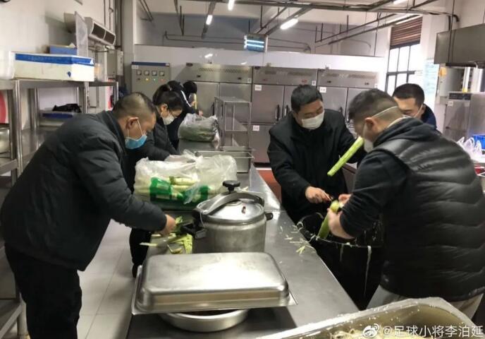国足训练基地成抗疫医疗队下塌地,武汉足协承担保障任务