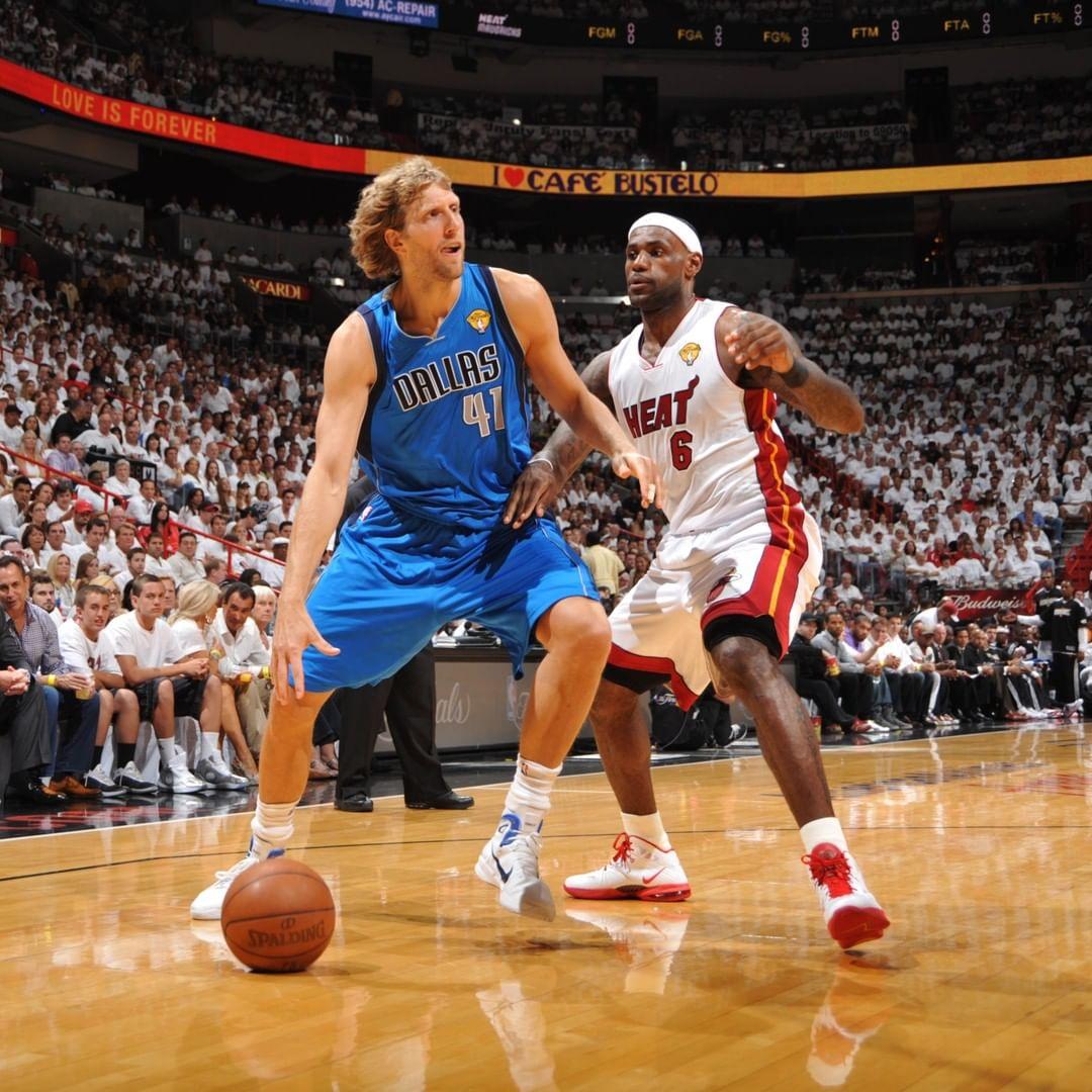 绝地反击!NBA更新Instagram回顾2011年总决赛G2