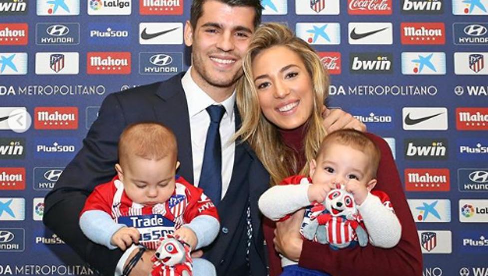 即将迎来第三个儿子,莫拉塔:我想组一支五人制球队
