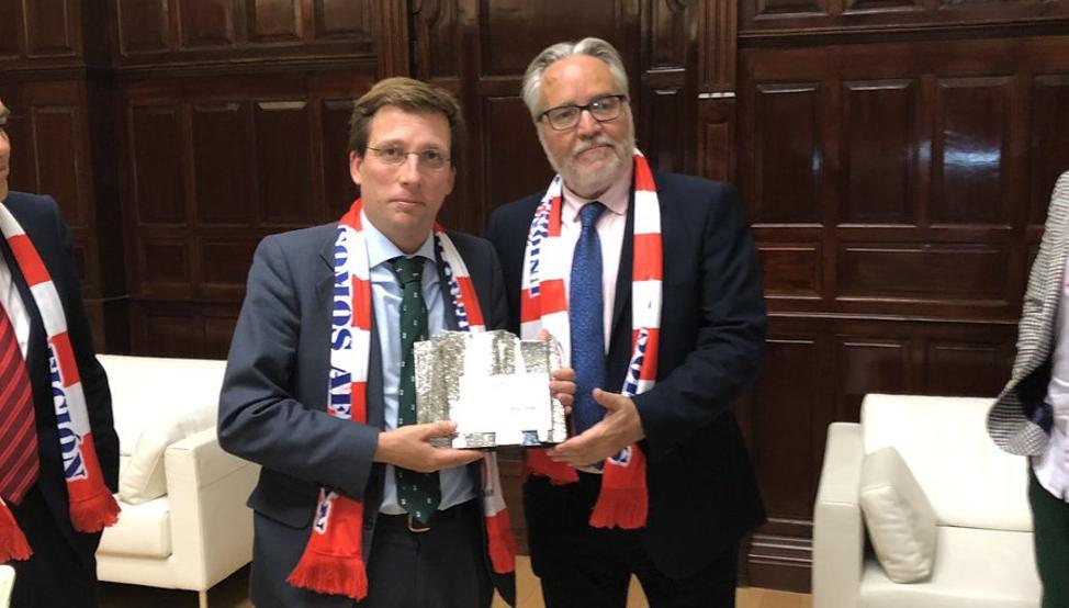 【西甲】市长:愿马德里双雄会师欧冠决赛,可别让克拉