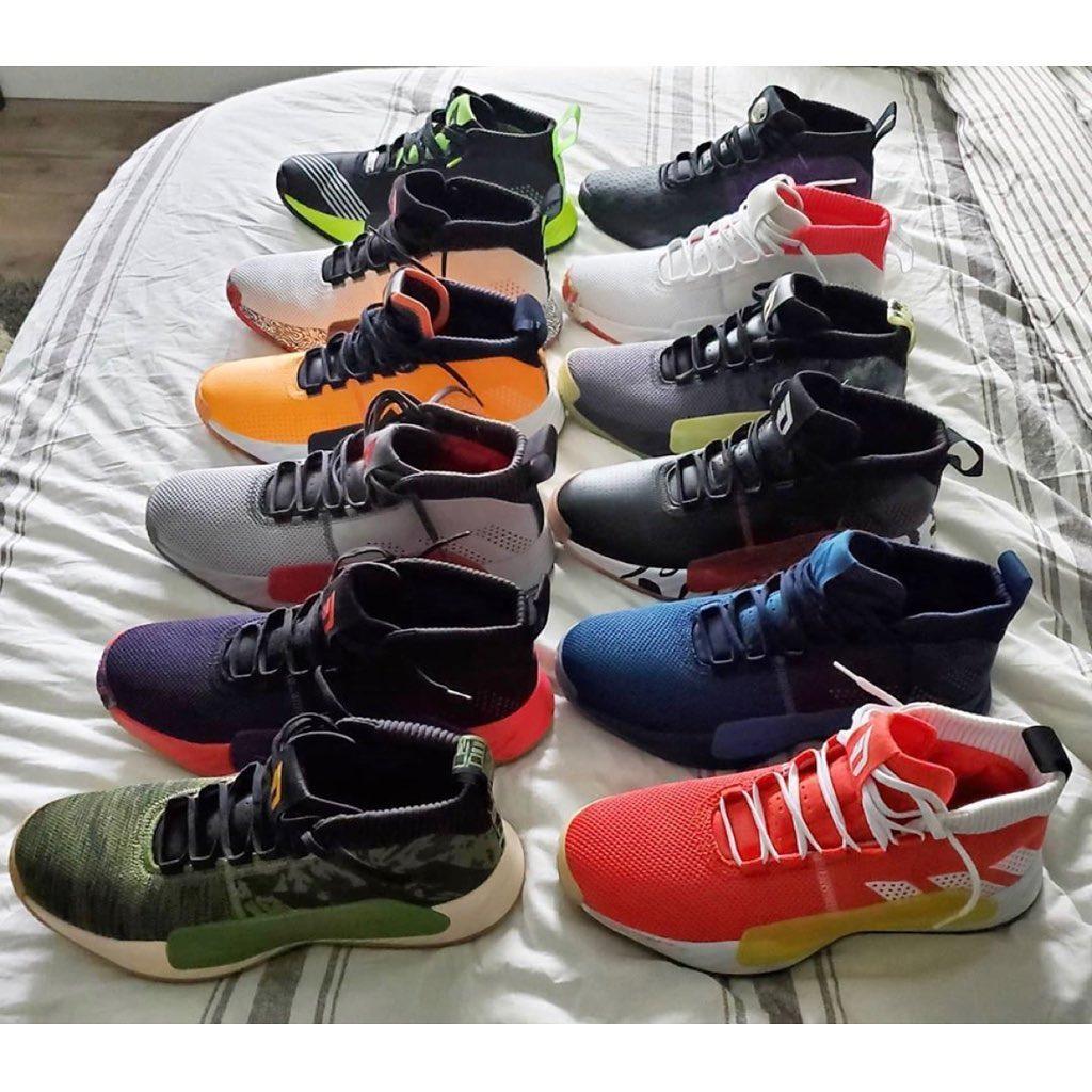 利拉德晒死忠粉球鞋收藏:你最喜欢哪一代的利拉德战靴?插图(3)
