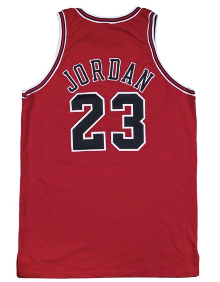 乔丹98年东决G3和G4身穿球衣竞拍价格已超过20万美元插图(1)