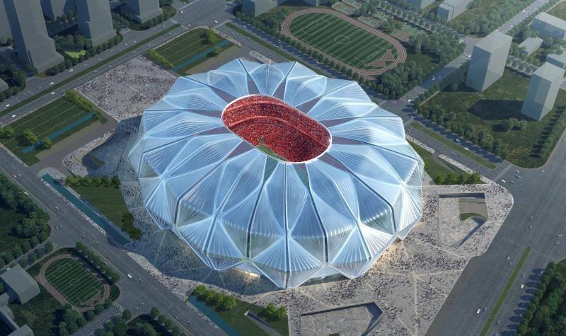 """恒大新球场方案获专家表决通过,外形从莲花变为""""莲冠"""""""