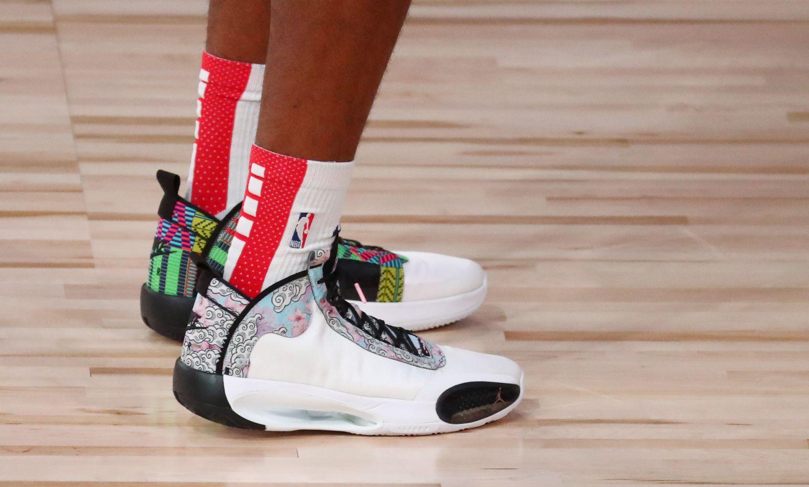 今日球鞋:莫兰特上脚Adapt BB 2,塔克上脚FOG 1