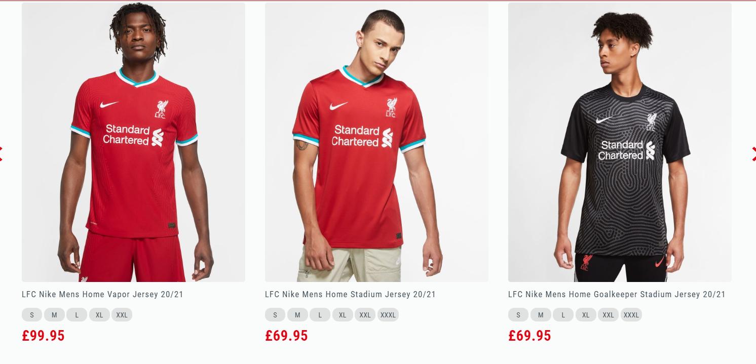 耐克来袭!利物浦官方正式发布2020/21赛季主场球衣