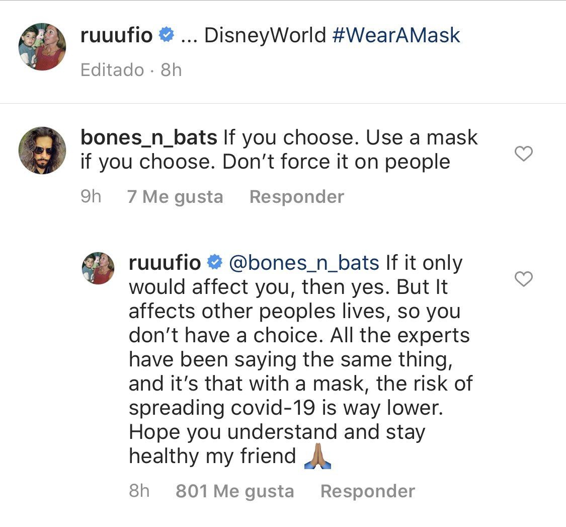 网友评论卢比奥Ins称别逼迫他人戴口罩,卢比奥完美回应
