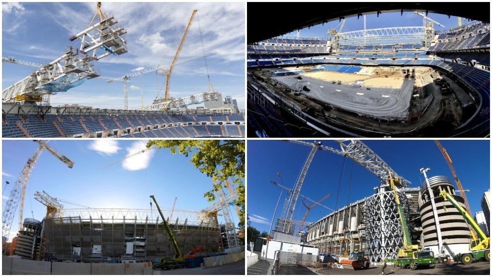 新伯纳乌未来每个赛季为皇国际足球新闻马创收超3亿,预计2022年完工
