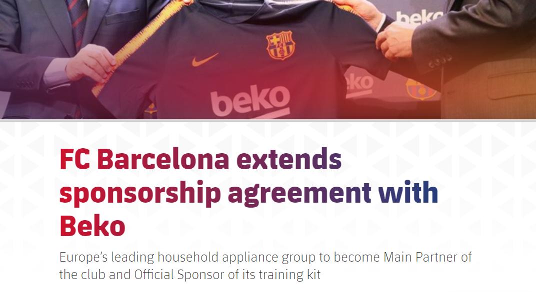 巴萨两大主赞助商合同明年到期,梅西离队将打击巴萨商业