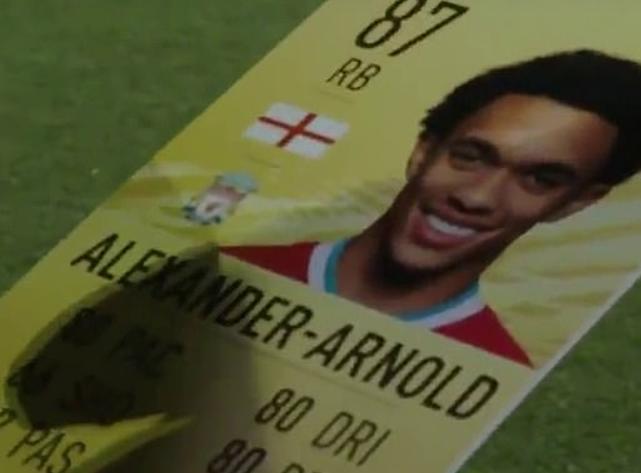 阿诺德谈FIFA评分:我的射门只有66,我觉得可以调高点