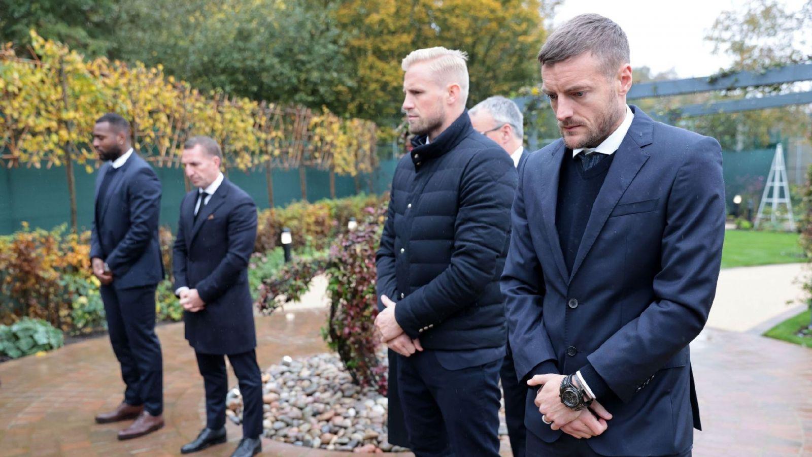 在维希逝世两周年之际,莱斯特城举行了悼念活动,罗杰斯瓦尔迪和其他人出席了活动