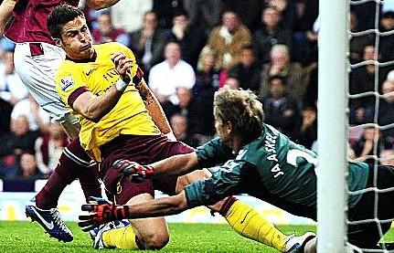 吉鲁:英超进球不容易,亨利都用时许久