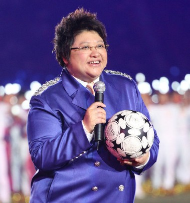 恒大夺冠庆典细节曝光:韩红献唱领导祝贺