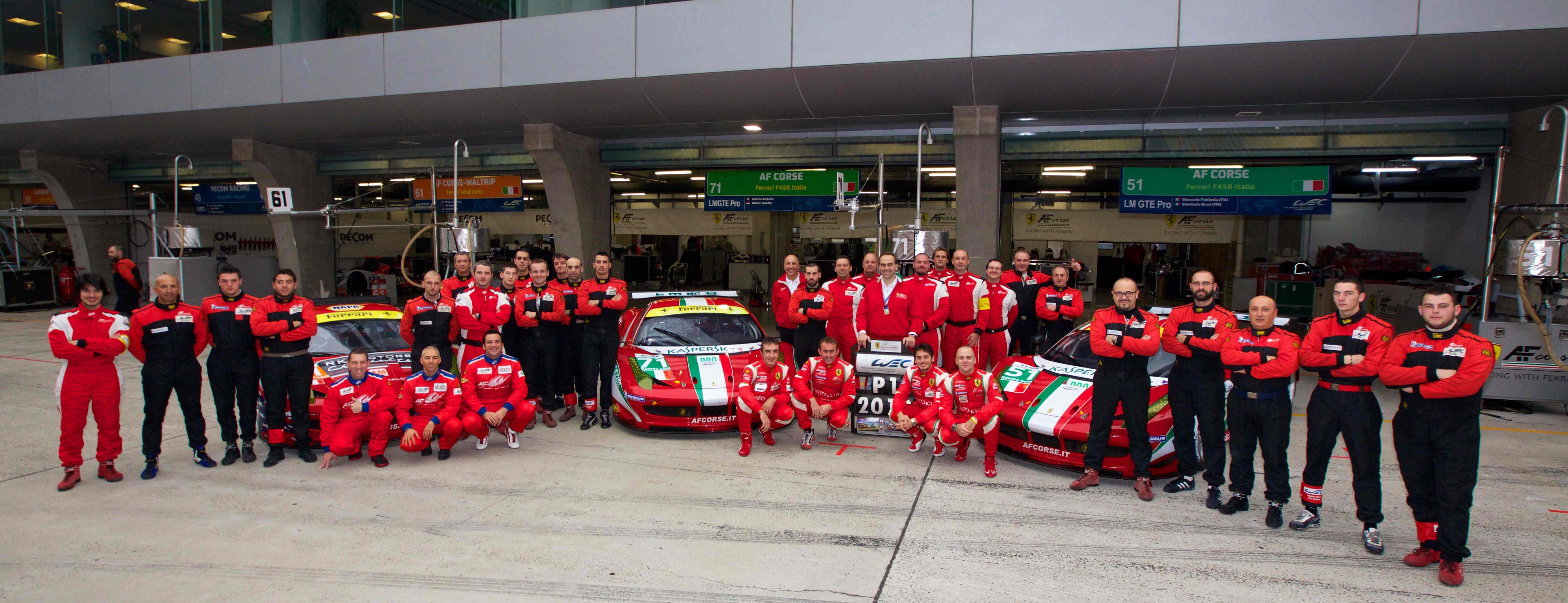 法拉利夺得勒芒GT专业组制造商总冠军