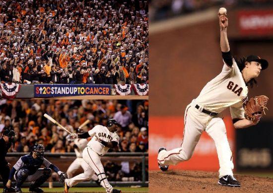 桑多瓦尔3本垒打,MLB世界大赛巨人伏虎