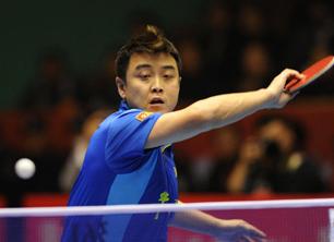 乒超联赛积分榜:男团上海登顶
