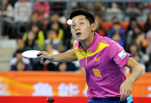 乒超俱乐部排名:男团上海榜首