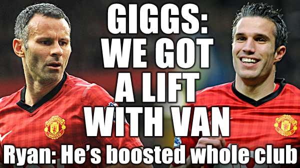 吉格斯:范佩西的到来激活了曼联