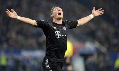 穆勒零角度破门,拜仁3-0完胜汉堡