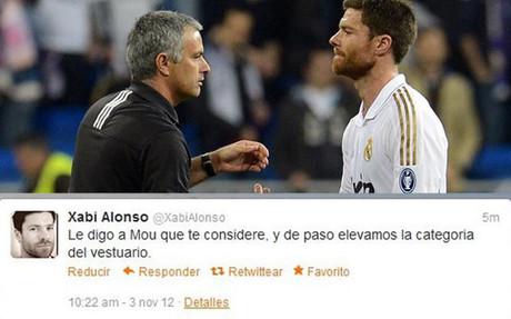 阿隆索不慎透露自己向穆帅推荐球员