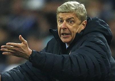 温格批评主裁2次做出对阿森纳不利判罚
