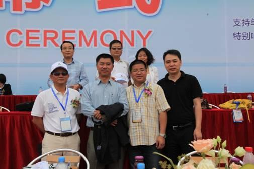 中国体育营销论坛应邀出席柳州名人帆船赛