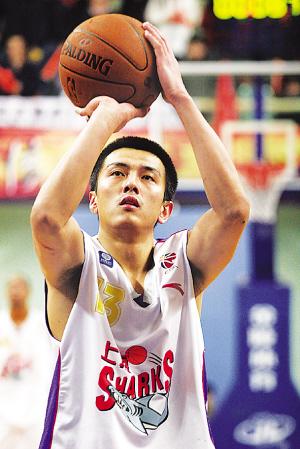 重返CBA,王思章与上海签订1年合约