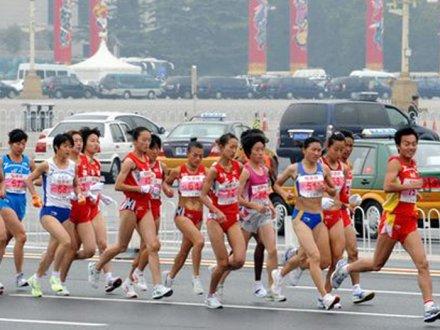 北京马拉松报名火爆, 仅4天3万名额即满