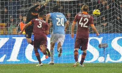 罗马德比评分:德罗西4分,托蒂5分