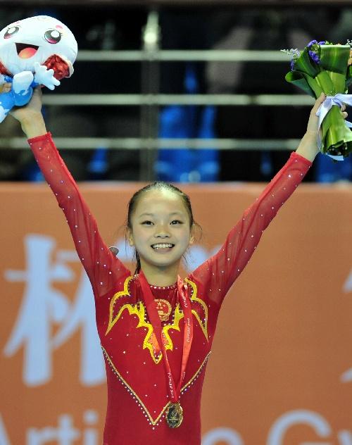 中国包揽体操亚锦赛女团和女子全能冠军