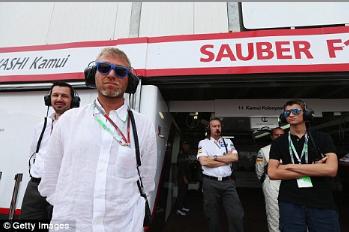 切尔西跨界合作F1索伯车队