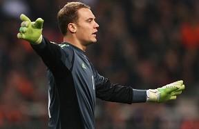 诺伊尔:对阵荷兰德国防守很棒