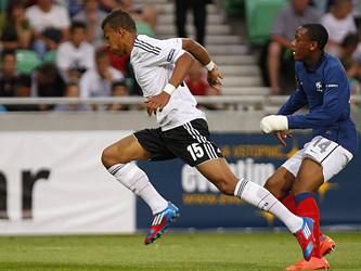 U18热身赛,德国队3-0完胜意大利