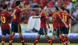 比利亚破门佩德罗2球,西班牙5-1巴拿马
