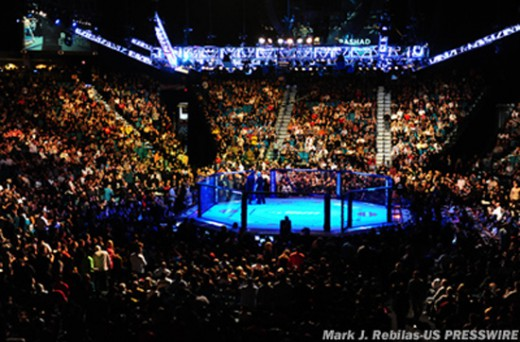 UFC官方敲定多场年初赛事