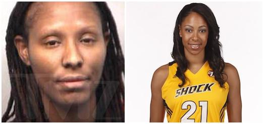 WNBA球星持枪射击前女友私家车,已自首