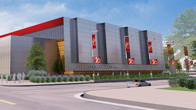公牛将在联合中心旁新建一座训练馆