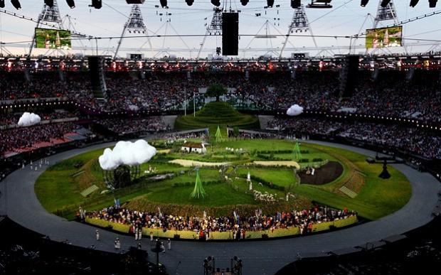 奥运开幕式陷抄袭门,英艺术家欲起诉