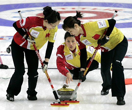 泛太平洋赛中国女子冰壶五连胜