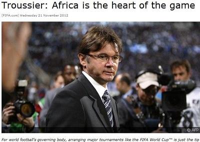 FIFA专访特鲁西埃:中超水平有待提高