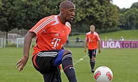 博阿滕在周三开始恢复有球训练