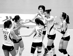 排球联赛:北京男女排均列小组第一