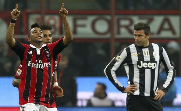 罗比尼奥点球建功,米兰1-0尤文