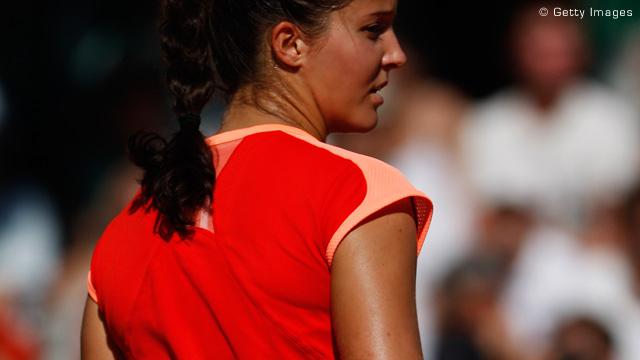 劳拉-罗布森荣获WTA本年度最佳新人奖