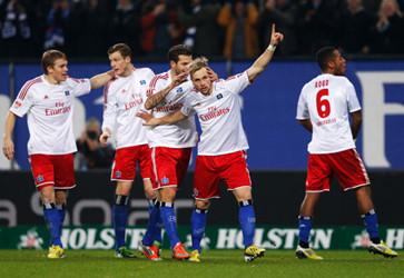 亨特拉尔破门,沙尔克1-3负汉堡3场不胜