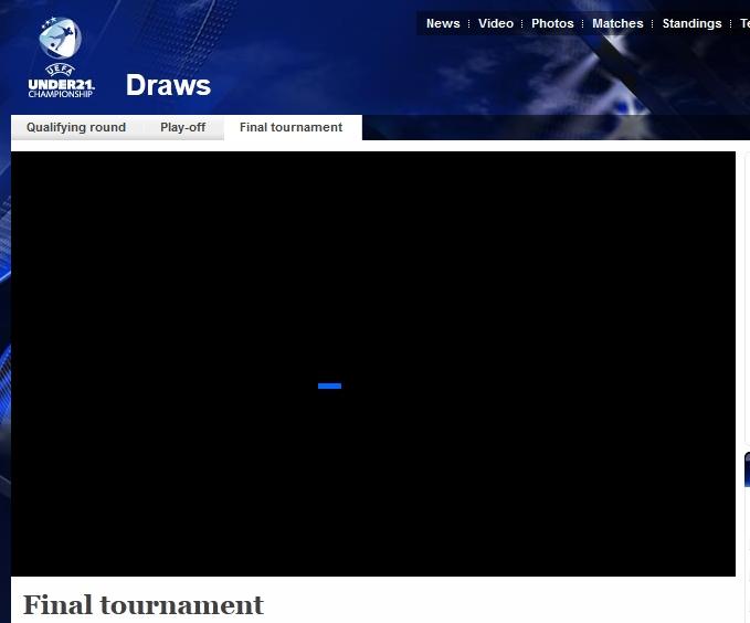 2013欧青赛抽签:西德荷同组