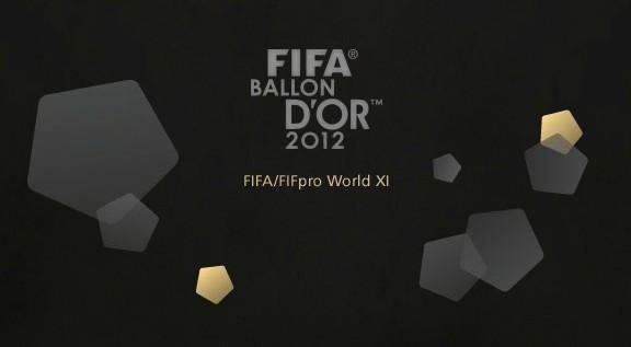 2012年FIFA最佳11人阵容候选出炉