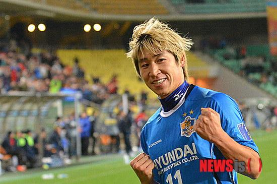 2012亚洲足球先生:李根镐