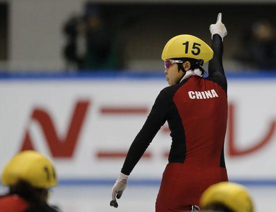 短道速滑世界杯:王濛500米第50次夺冠