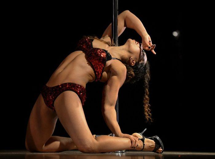 竞技钢管舞可能作为体操项目进奥运会