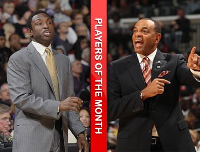 十一月份最佳教练:约翰逊和霍林斯